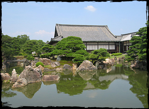 A national special place of scenic beauty - the Ninomaru Garden