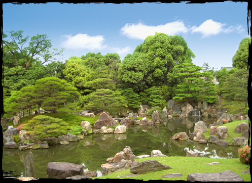 A national special place of scenic beauty - the Ninomaru Garden ...
