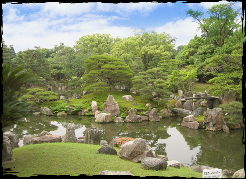 ... A national special place of scenic beauty - the Ninomaru Garden ...