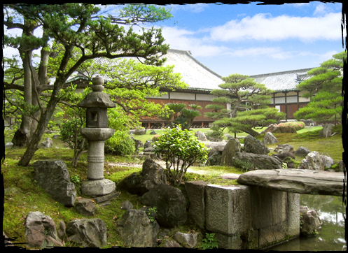 ... A national special place of scenic beauty - the Ninomaru Garden